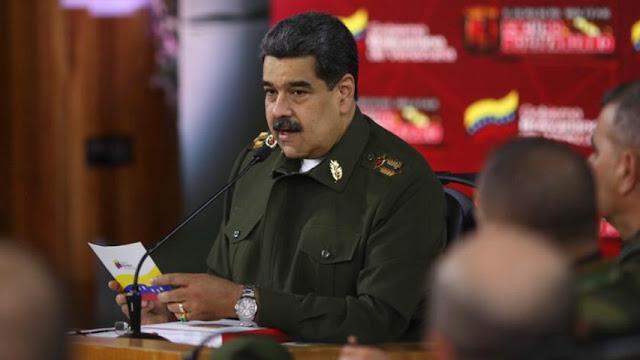 MADURO INSISTE EN PLANES DESDE COLOMBIA PARA DESESTABILIZAR AL PAÍS