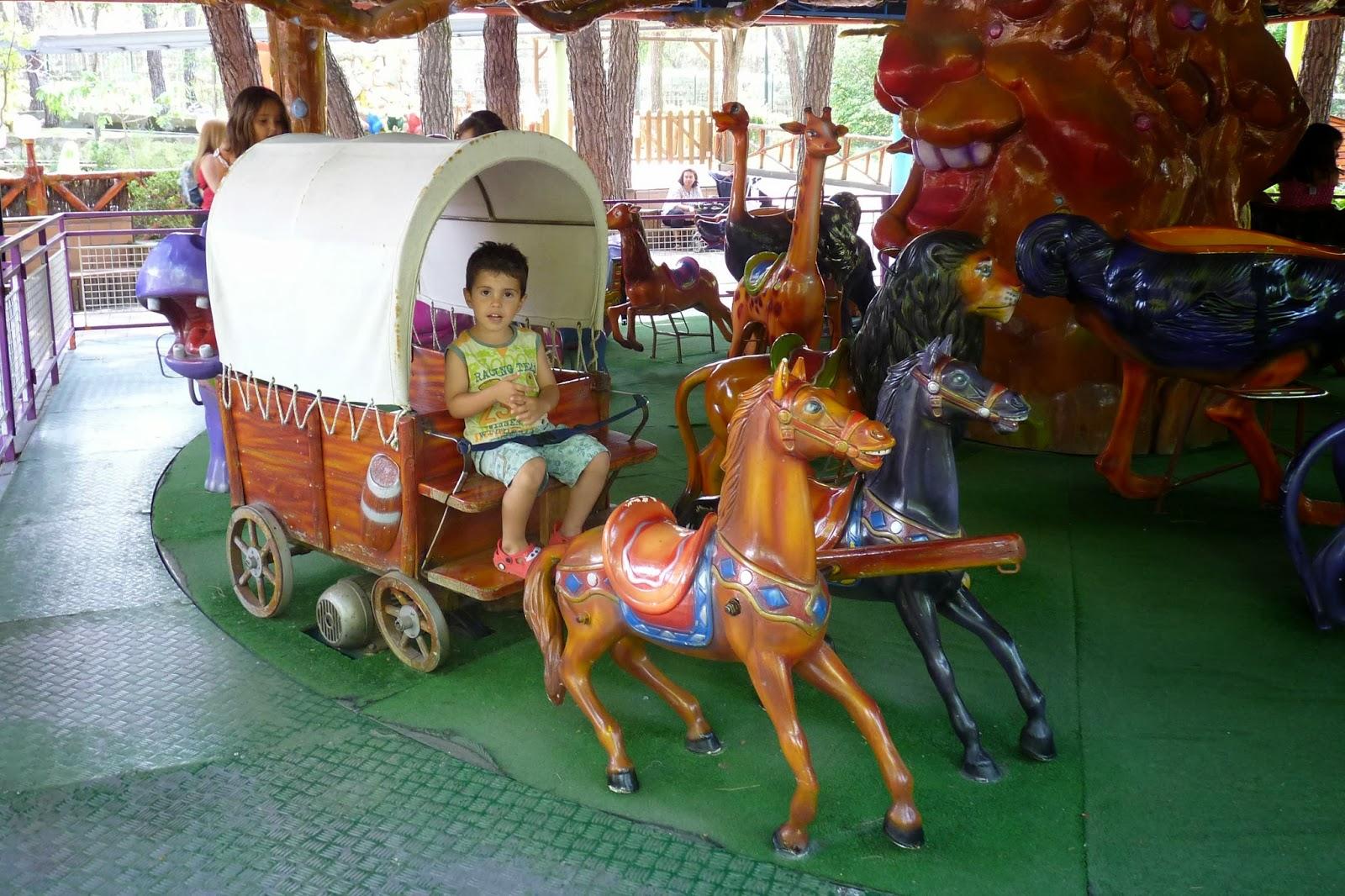 Baby Selva. Parque de Atracciones de Madrid.