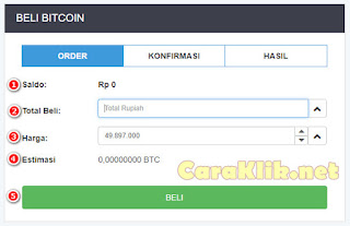 Beli Bitcoin di Rekeningku com