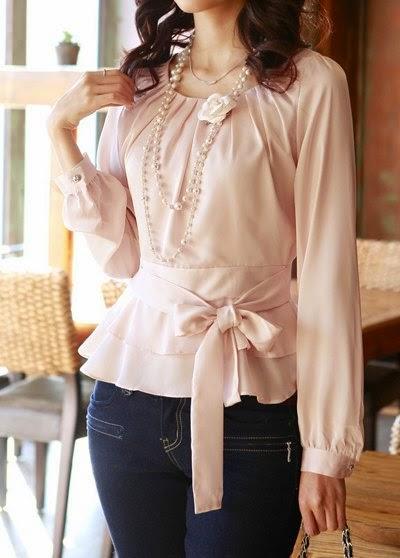 Multinotas Blusas Modernas Mujer Elegante