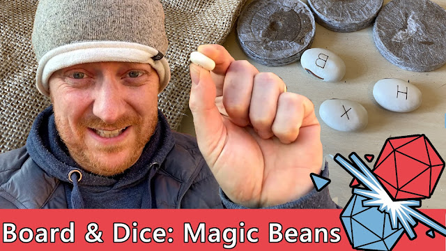 Board and Dice and the Magic Beans (Children of Wyrmwoods)