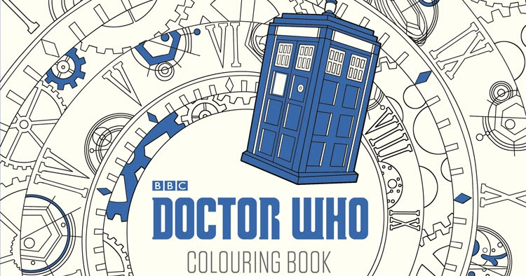 Hello Im The Doctor Doctor Who Colouring Book