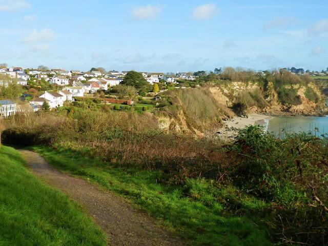 Cornish Coastal Footpath at Porthpean