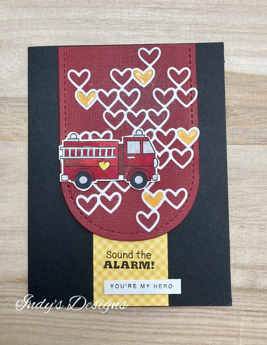 Sound the Alarm features Newton's Nook Designs; #newtonsnook, #indys_designs, #cardmaking