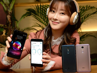 LG X4+  Smartphone launched in Korea