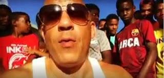 Video: Vin Diesel en RD, estoy aquí con mi gente, mis tigueres!!!