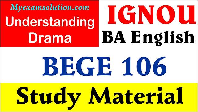 ignou bege 107, ignou bege study material, ignou bege