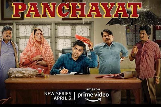 Indian web series Amazon Prime Video Panchayat
