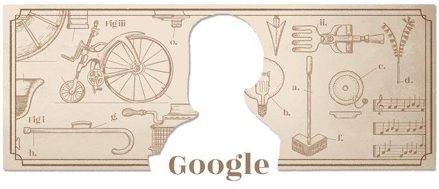 50th anniversary of the 1st play with Jara Cimrman - Google Doodle