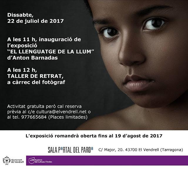 Esguard de Dona - Exposició de Fotografies de Ton Barnadas - El Llenguatge de la Llum - del 22 de juliol a 19 d'agost de 2017 - Portal del Pardo - El Vendrell