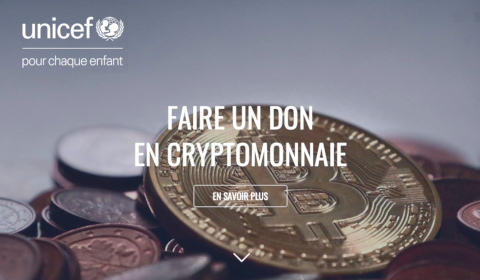 UNICEF – Faire un don en cryptomonnaie