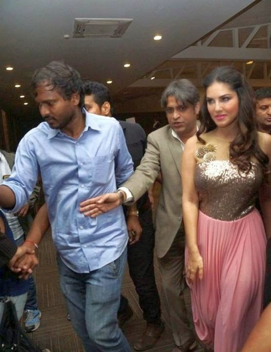 Sunny Leone New Year Party Dance Photos