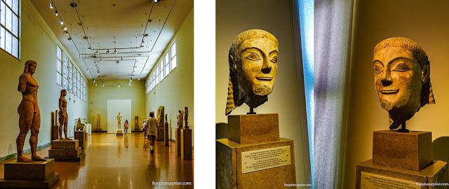 Coleção de Esculturas do Museu Nacional de Arqueologia de Atenas, Grécia