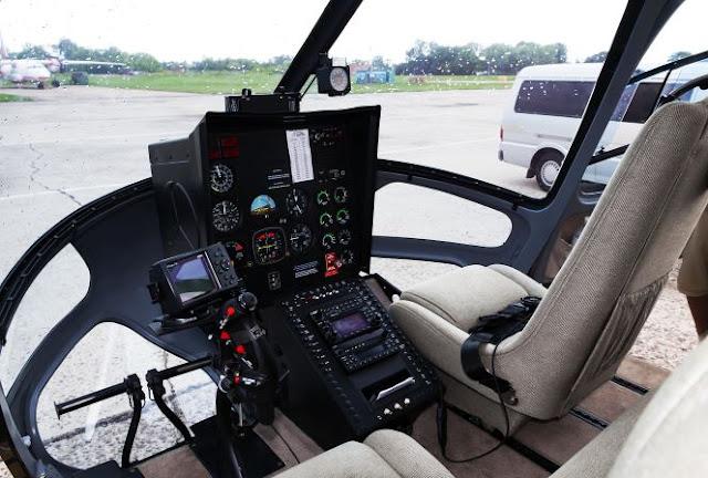 Enstrom 480B Cockpit