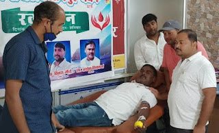 रक्तदान से जरुरतमंद की बचाई जा सकती है जान:मो. मुस्तफा   #NayaSaberaNetwork