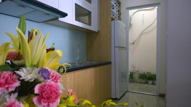Thiết kế khu bếp căn hộ mẫu Gemek Premium