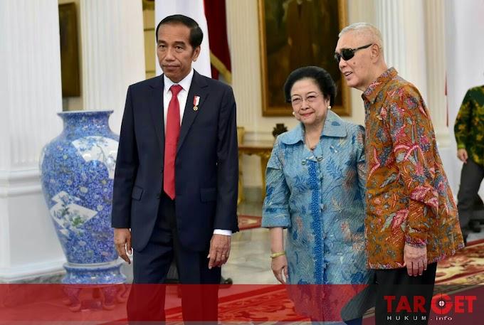 Megawati dan Try Sutrisno Ucapkan Selamat Kepada Presiden Jokowi