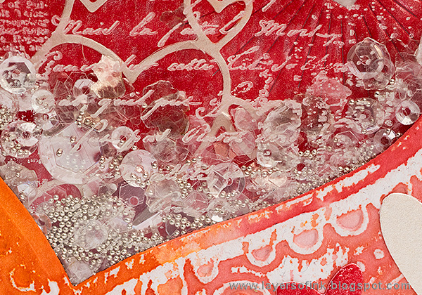 Layers of ink - Layered Valentines Shaker Card Tutorial by Anna-Karin Evaldsson