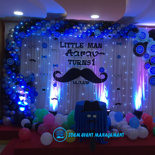 Birthday Party Decoration Stage (Code IEMB1003)