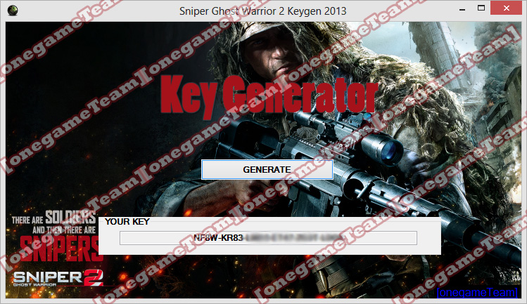 Sniper Ghost Warrior 2 Key Generator FREE