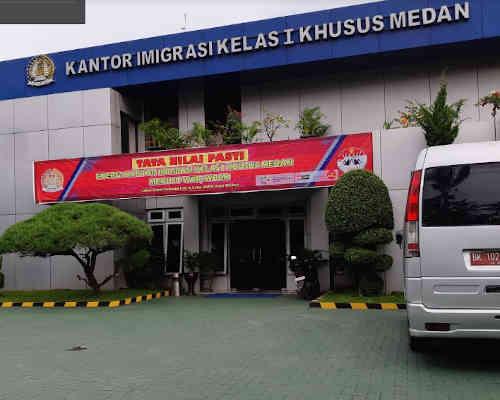 Alamat Telepon Kantor Imigrasi Kelas 1 Khusus TPI Medan - Sumatera Utara