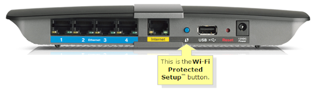 wps wifi button on router