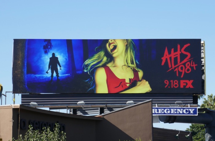 American Horror Story 1984 season 9 billboard