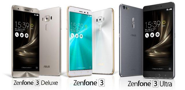 Asus unveils ZenFone 3, ZenFone 3 Deluxe, ZenFone 3 Ultra @ Computex 2016