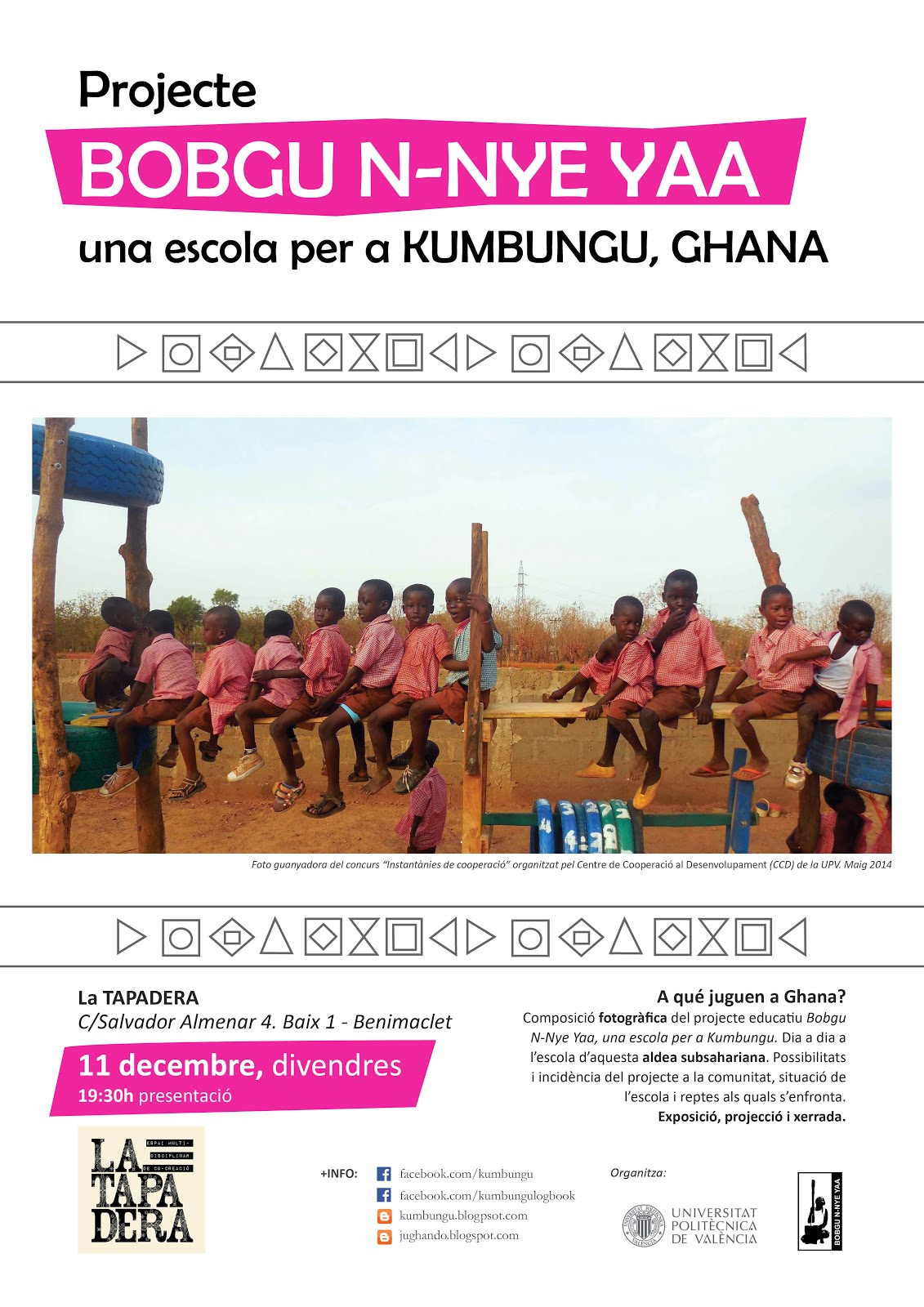 Construyendo un parque infantil en Kumbungu, Ghana