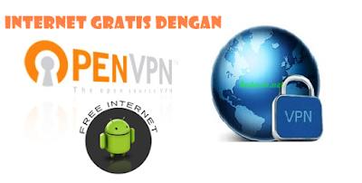 Cara internet gratis dengan Open VPN