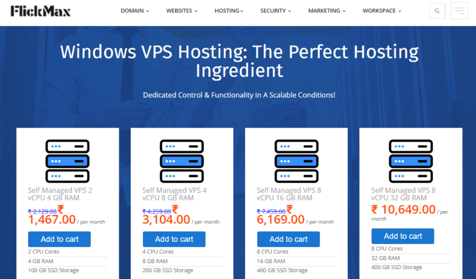 Cheap Windows VPS Hosting Buy at FlickMax.co