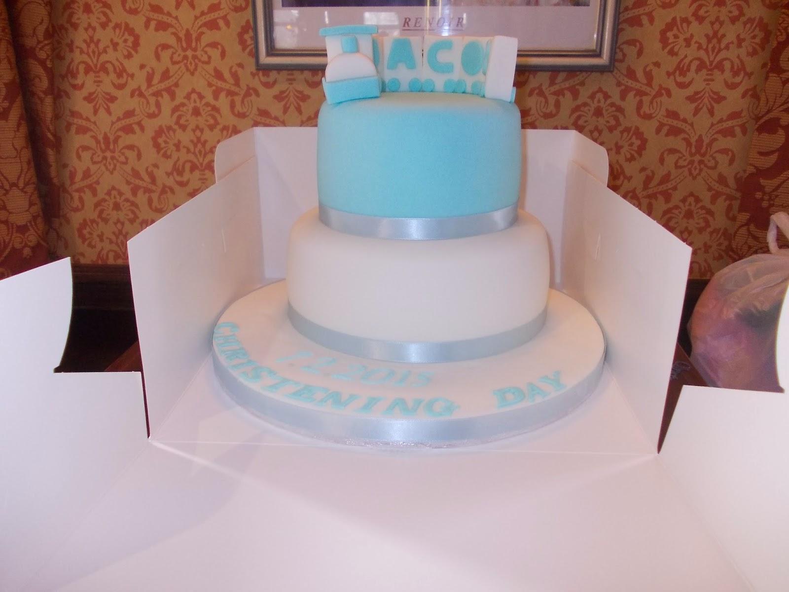 Jacobs christening cake