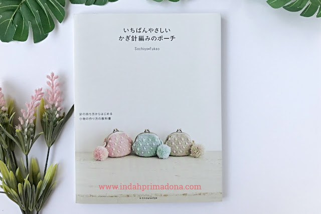 review buku craft, crochet pouch, review buku rajut, buku rajut jepang, buku rajut pouch, handmade craft, crochet book