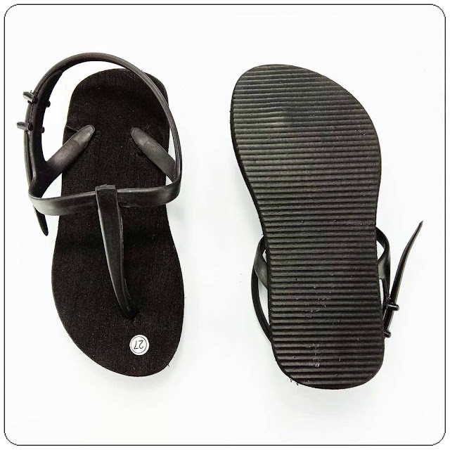 Sandal Hak Polos Talincang Anak-grosir sandal murah