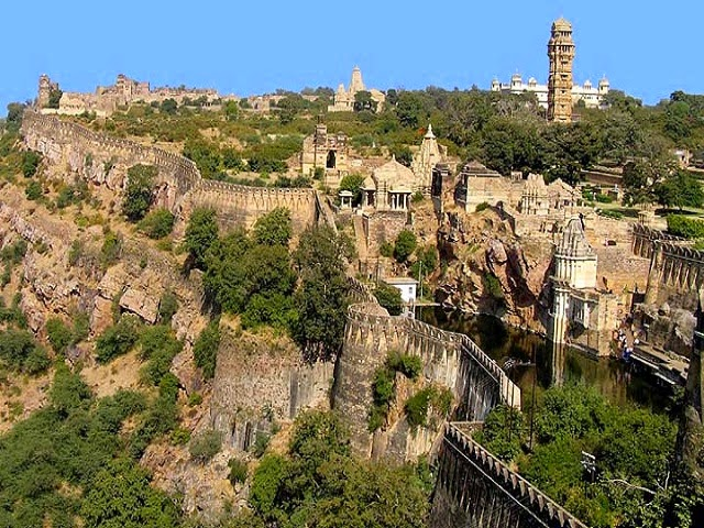 Chittorgarh Fort in Udaipur, Rajasthan  IMAGES, GIF, ANIMATED GIF, WALLPAPER, STICKER FOR WHATSAPP & FACEBOOK
