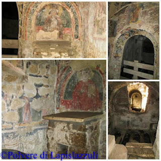 Basilica affrescata di Cimitile del medioevo