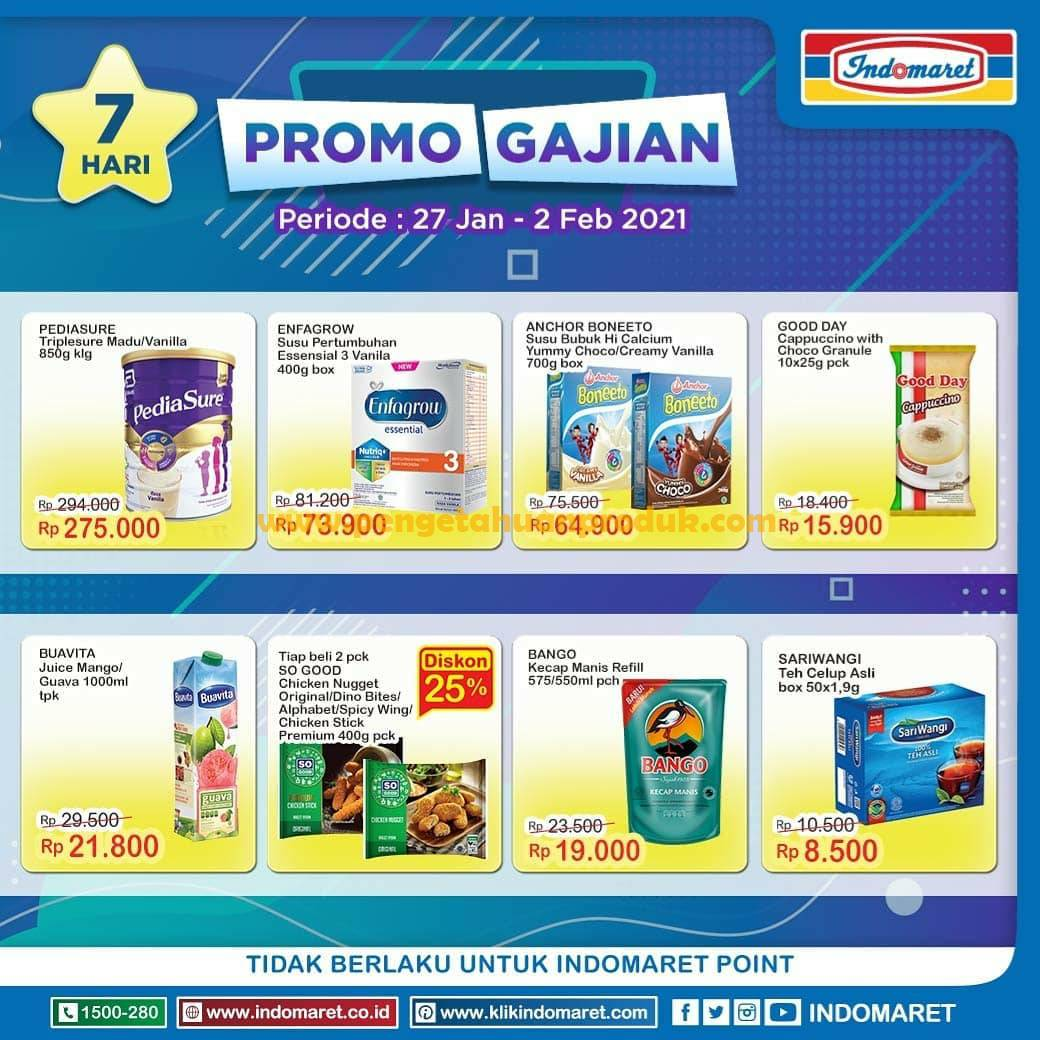 Katalog Indomaret Promo GAJIAN Periode 27 Januari - 2 Februari 2021