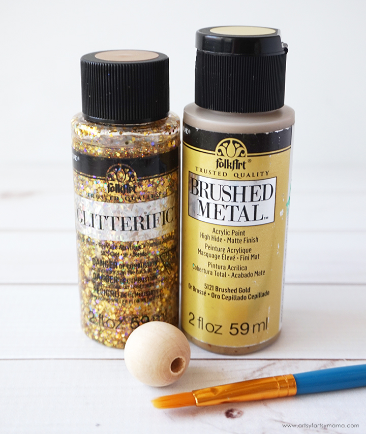 DIY Snitch paint supplies