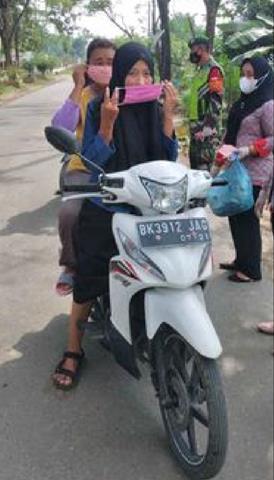 Tidak Bosan Personel Jajaran Kodim 0207/Simalungun Stop Penyebaran Covid-19 Diwilayah Binaan