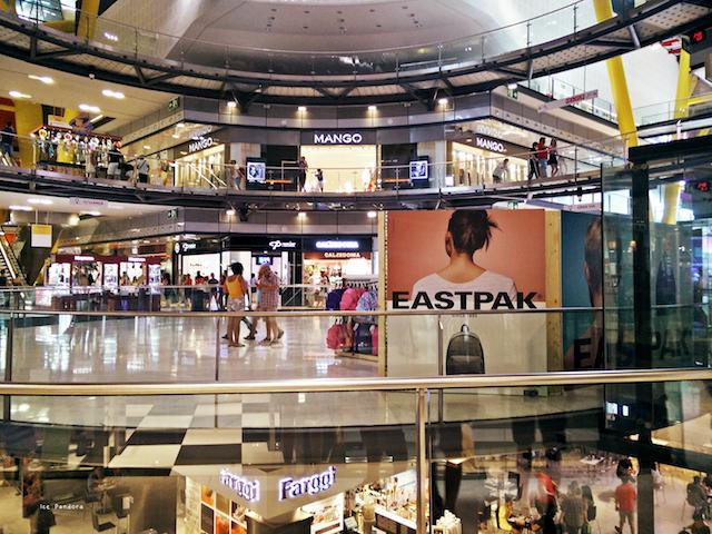 Lojas Shopping Las Arenas em Barcelona