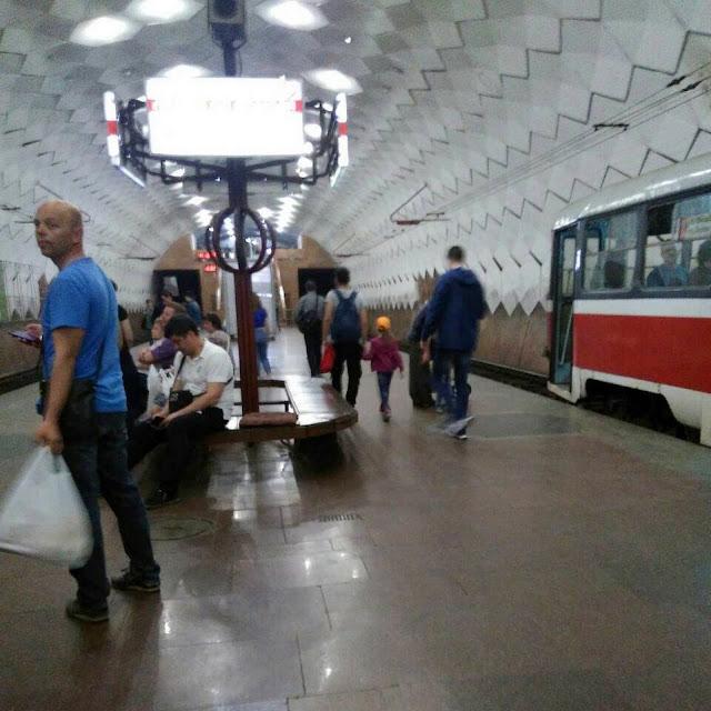 """Подземная станция """"Будинок Рад"""" (""""Дом Советов"""")"""