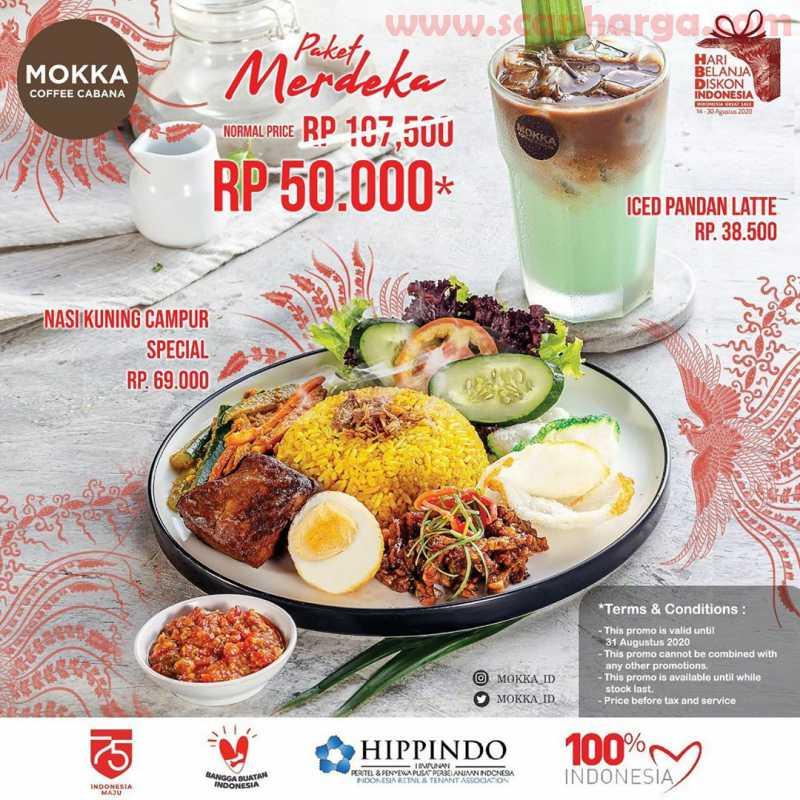 Promo Mokka Coffee Cabana