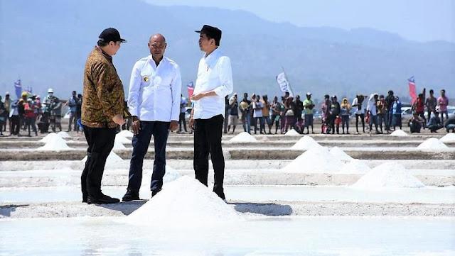 Jokowi Jengkel Garam Produksi Rakyat Tidak Laku