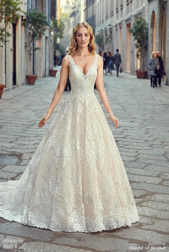 Milano by Eddy K 2018 Bridal Collection - World of Bridal