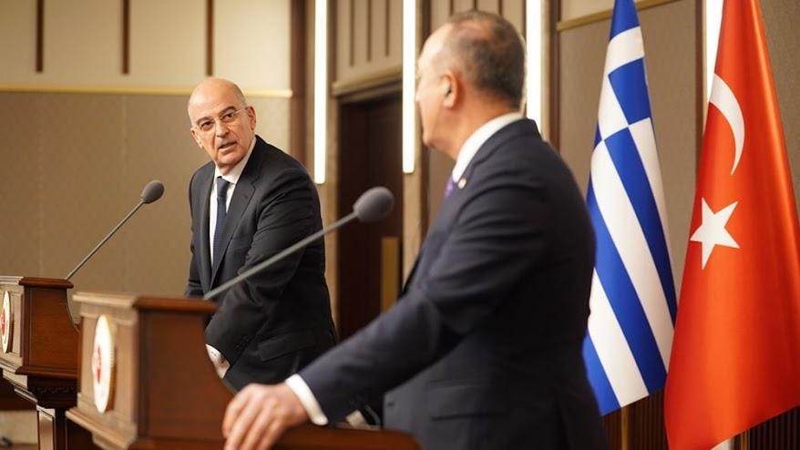 Ελληνοτουρκικά: Η διπλωματία μετά την κόντρα Δένδια-Τσαβούσογλου