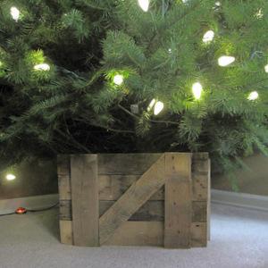 Wood You Like To Craft Barn Door Christmas Tree Stand