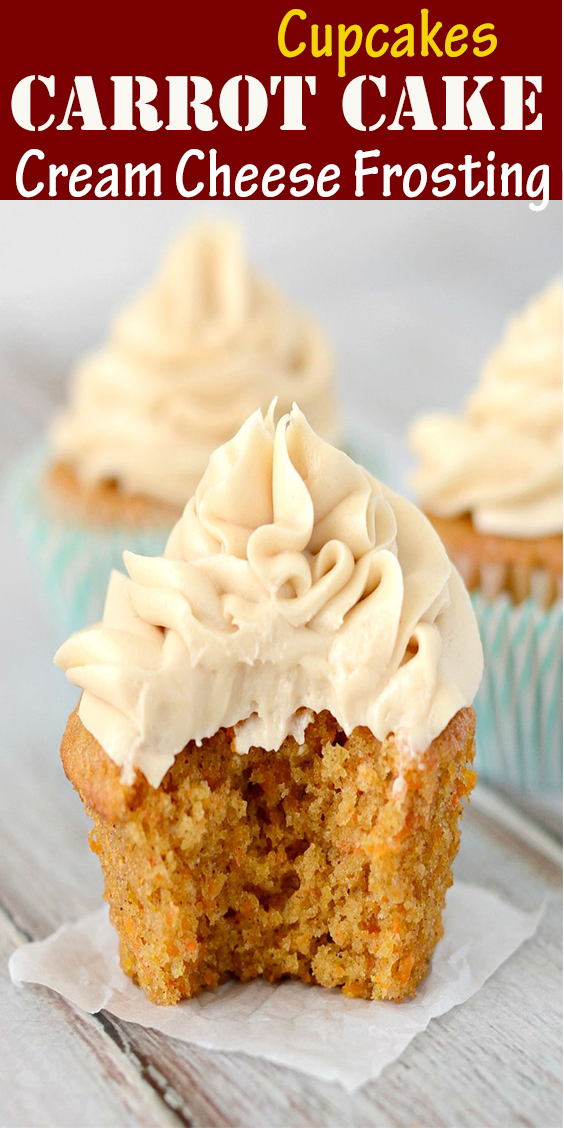 Paleo Carrot Cake Cupcakes with Cream Cheese Frosting #Paleo #Carrot #Cake #Cupcakes #with #Cream #Cheese #Frosting #PaleoCarrot #Cake #CupcakeswithCreamCheeseFrosting