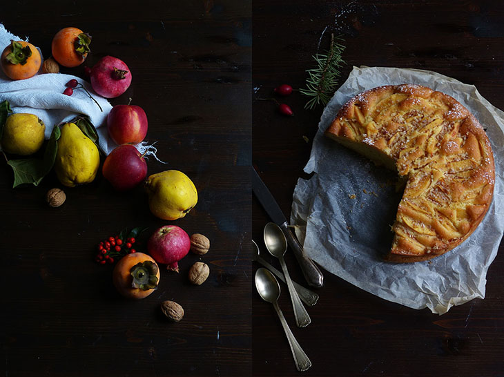 torta di mele cotogne_S&V