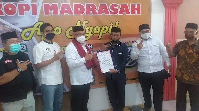 Merasa Diperhatikan, Komunitas Guru Madrasah Deklarasi Dukung Idris-Imam