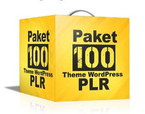 Paket 100 WP Theme Gratis